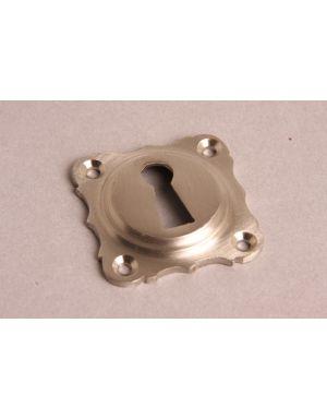 Keyhole escutcheon Brushed Nickel 43mm