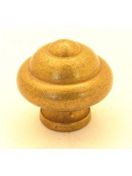 Knob Brass Antique 30mm