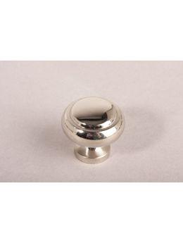 Knob Bright Nickel 30mm