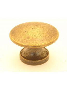 Knob Brass Antique 28mm