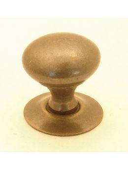 Knob Brass Antique 19mm