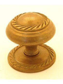 Knob Brass Antique 32mm