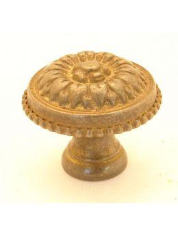 Knob Brass Antique 27mm