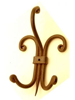 Clothing hook rust