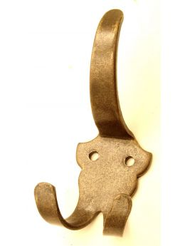 Coat Hook Brass Antique 134mm