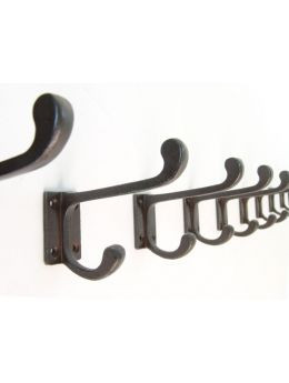 School hook rust, black or tin colour