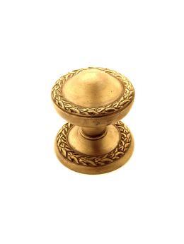 Door knob bronze antique
