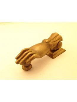 Door knocker brons antique hand