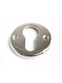 cylinder escutcheon Bright Nickel 50mm