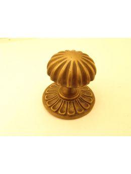 Door knob bronze antique 80mm