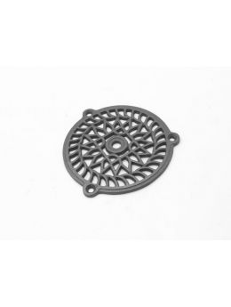 Round Grill Metal Grey 110mm