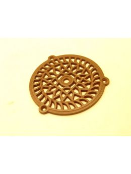 Round Grill Rust Lacquer 130mm