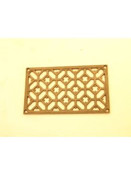 Grill (Register Vent) Rust Lacquer 12 x 20mm