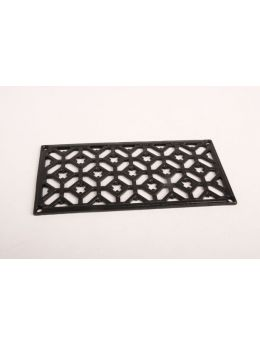 Grill (Register Vent) Black 12 x 24mm