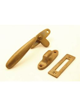 Casement Window Latch Brass Antique 35mm