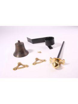 Doorbell push Brass Polish 80mm
