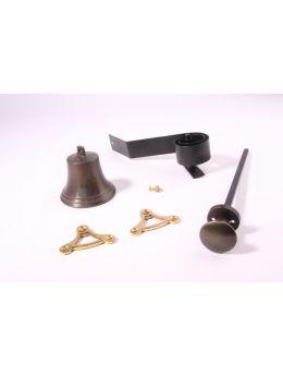Doorbell pull Brass Antique 80mm
