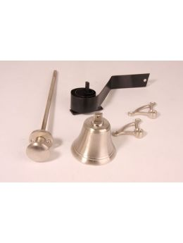 Doorbell pull Brushed Nickel 80mm