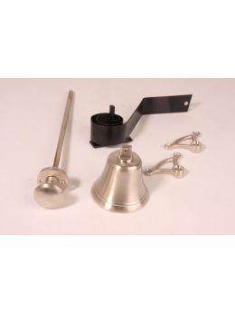 Doorbell pull Brushed Nickel 80mm