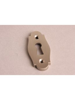 Keyhole escutcheon Brushed Nickel 33mm