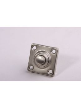 Doorbell push Brushed Nickel 37mm
