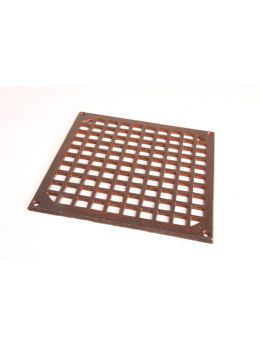 Grill square (Register Vent) Rust Lacquer 200mm
